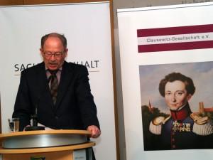 """Professor Dr. Michael Epkenhans spricht zum Thema """"Grundzüge und Wesensmerkmale der Bismarck'schen Politik und Strategie"""""""