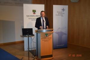 Staatssekretär Dr. Michael Schneider eröffnet das 8. Clausewitz-Strategiegespräch