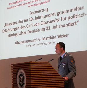 Oberstleutnant i.G. Matthias Weber