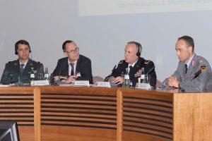 Grégoire Monnet, Thomas Wiegold, Philip S. Jolly, Matthias Weber (v.l.)