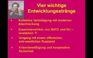 NATO-Gipfel Entwicklungsstränge1