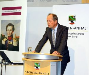 Frank Smeddinck bei seiner Begrüßung